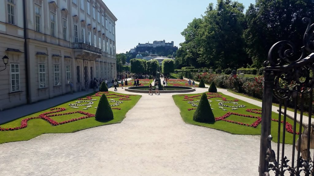 ultimate solo female travel guide to salzburg schloss mirabell gardens palace