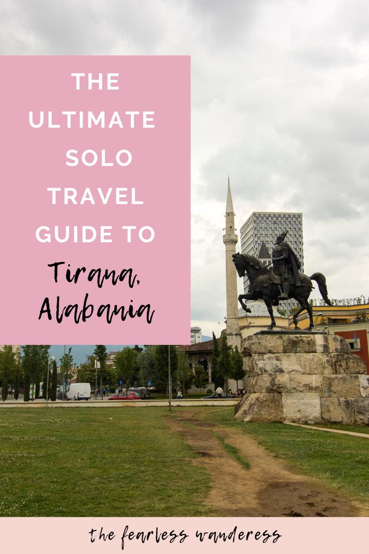 tirana solo travel guide