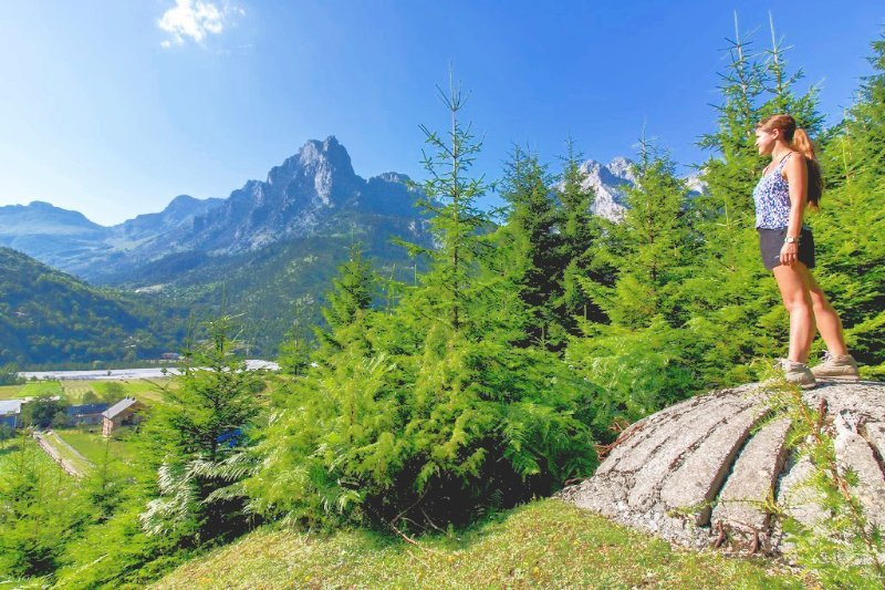 bunker in valbona valley national park albania