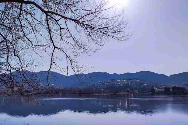 tirana artificial lake park