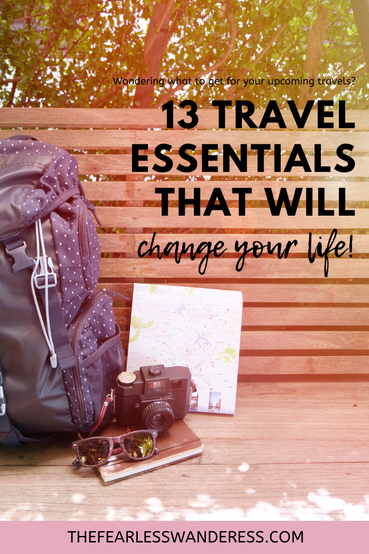 13 Travel Essentials that will change your life The Fearless Wanderess update 2020