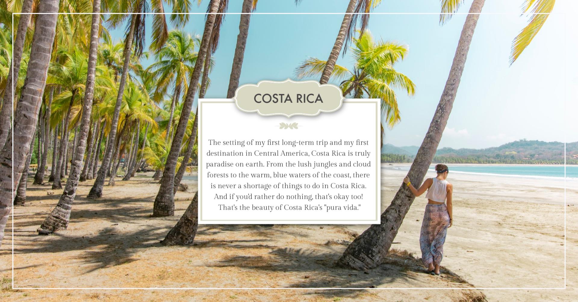 solo female travel to costa rica