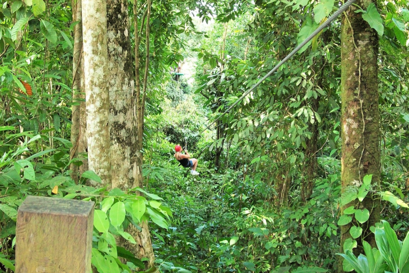 what to do as a solo female traveler in monteverde go ziplining